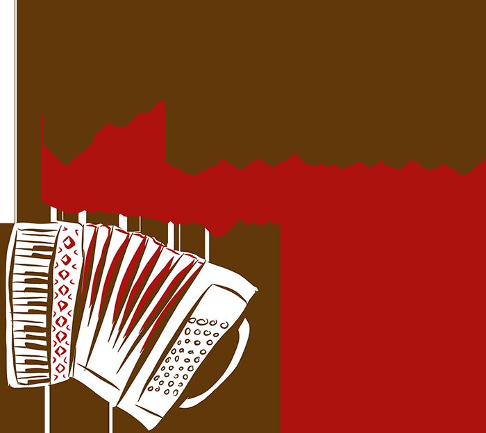 Logo Akkordeonspieler Dominik