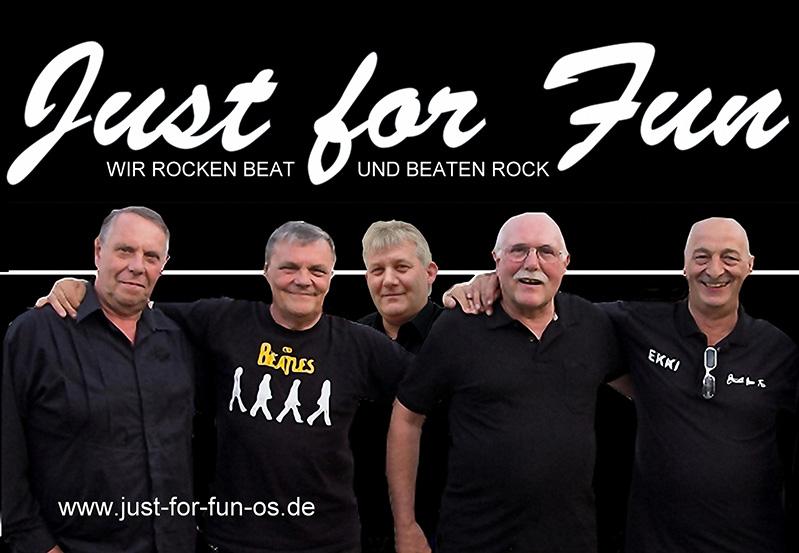 Bandmitglieder von Just for fun